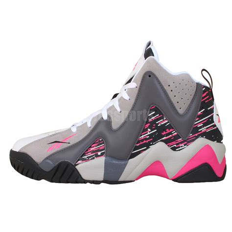 kamikaze basketball shoes reebok kamikaze ii mid 2 breast cancer bca 2014 mens
