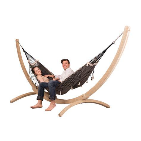 2 personen hängematte mit gestell h 228 ngematte mit gestell la siesta biobaumwolle fsc holz