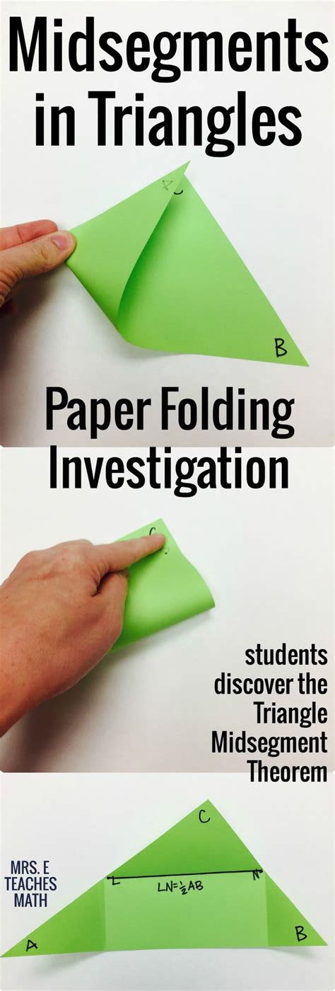 Paper Folding Geometry - 17 best ideas about geometry lessons on six
