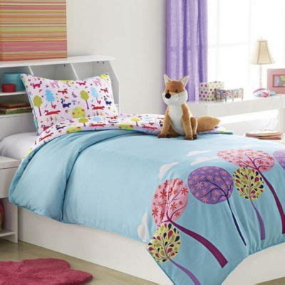 sears canada comforters foxy lady kids comforter set with plush toy cushion
