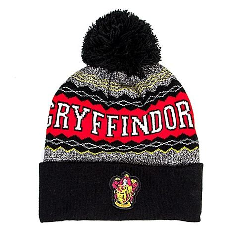 harry potter knit hat buy harry potter quot gryffindor quot knit hat from bed bath beyond