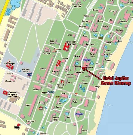jupiter resort map map