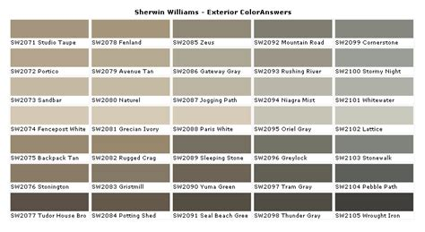 exterior paint colors on 40 pins