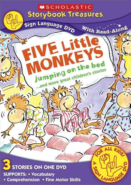 libro five little monkeys jumping five little monkeys 767685228494 dvd barnes noble 174