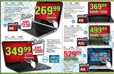 Office Depot Laptop Sale by Office Depot Black Friday 2013 Ad Leaks Laptop Desktop