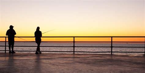 pier j fishing pier fishing in california california beaches