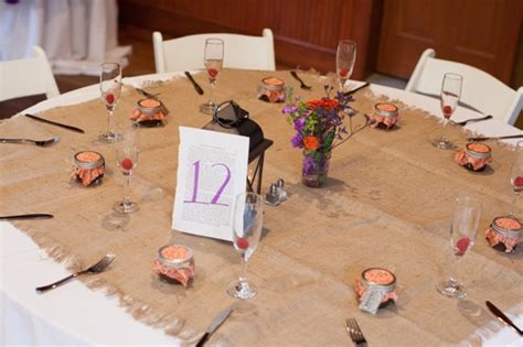 Capitol Wedding: JD & Trey's Personalized, Rustic Orange