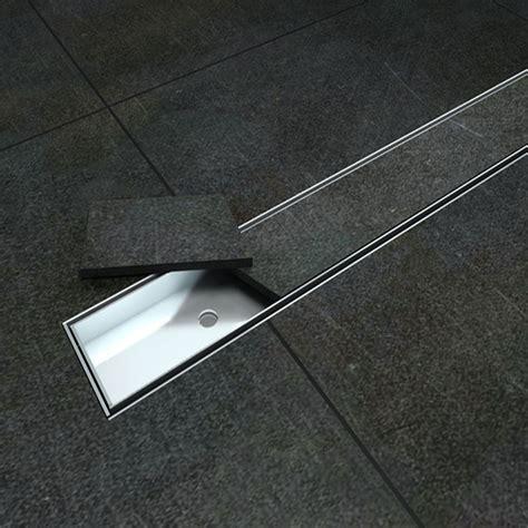 piatto doccia piastrellabile canalina di scarico doccia acciaio inox canale griglia