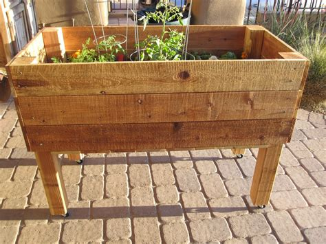 blissful craziness spring herb box  wheels