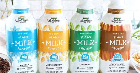 Summer Naturals Product Ethically Packaged by Bolthouse Farms Launches Plant Protein Milks Bevnet