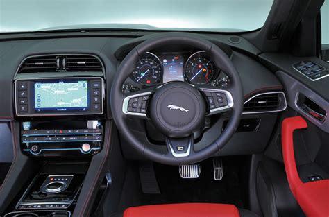 jaguar f pace inside jaguar f pace interior autocar