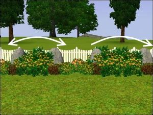 Sims 3 Garden Ideas Mod The Sims Tutorials Landscaping Mega Tutorial
