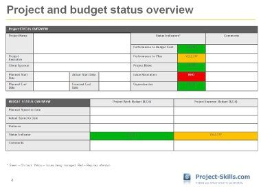 it project status report template 5 free project management templates you can use project