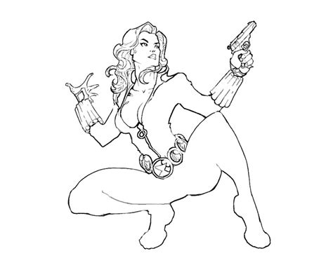 black widow coloring pages coloring pages