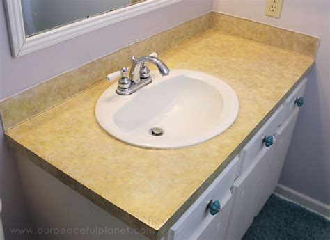Contact Paper Countertop by How To Do A Sturdy Stunning Granite Contact Paper