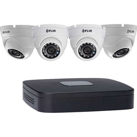 flir dn1142e43 4 channel 5mp nvr with 2tb hdd and 4 dn1142e43