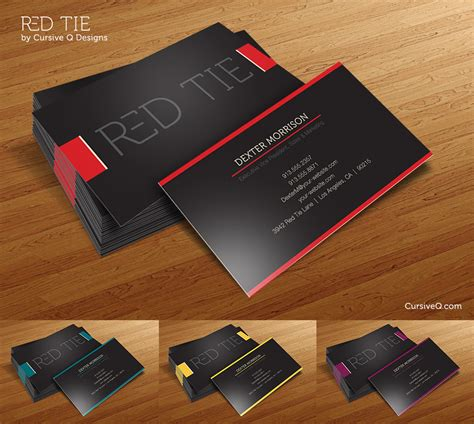 free photoshop business card templates psd tie free business card photoshop psd template