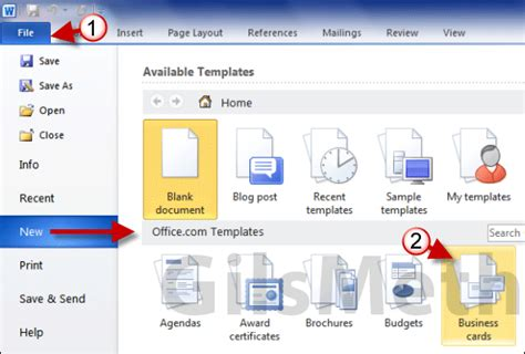 how to make business cards in word 2007 how to print business cards in word 2010