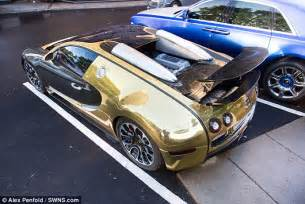 Bugatti Gold Price Gold Bugatti Veyron Of A Saudi Millionaire Makes Crowds Go