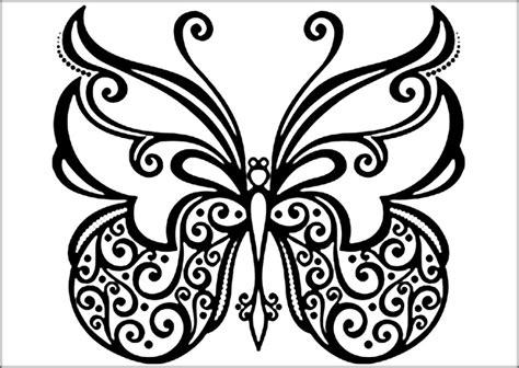 beautiful coloring pages of butterflies beautiful butterfly coloring pages for preschool color zini