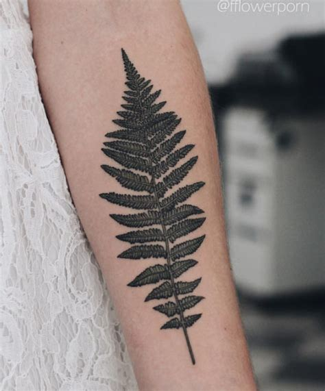 fern leaf tattoo pictures to pin on pinterest tattooskid