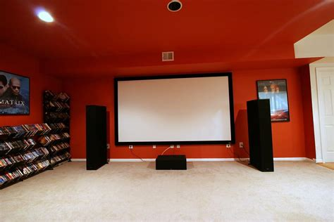 front projection setup avs forum home theater