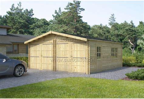 garage 6x6m garage in legno