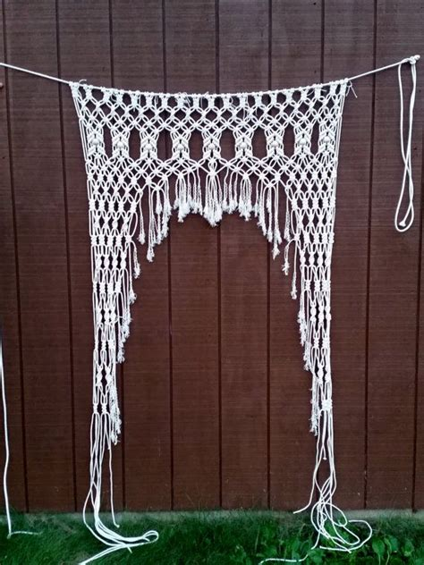Macrame Rope Patterns - 1000 ideas about macrame curtain on macrame