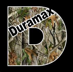 duramax camo vinyl decal chevrolet chevy turbo diesel
