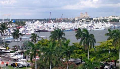palm beach boat show attendance video palm beach show reports attendance boost trade