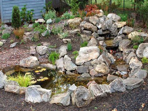 Outdoor Rock Garden Designs Ideas Garden Vegetables How Rock Features In Gardens