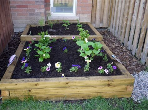 diy flower bed diy outdoor planters archives shelterness