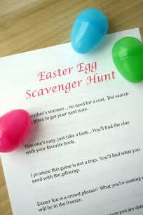 easter scavenger hunt egg hunt on pinterest mario birthday party easter party and easter printables