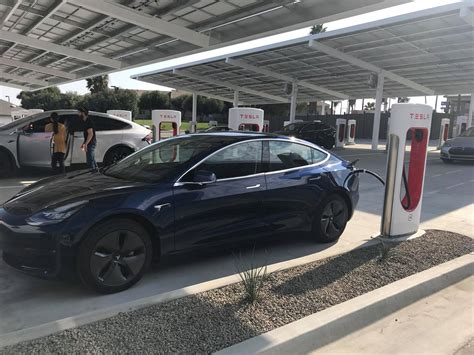tesla model s supercharger tesla opens quot mega quot superchargers with lounge food