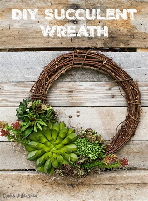 diy succulents succulents wreath diy crafts