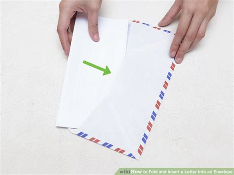 How Do You Fold Paper Into An Envelope - the 3 best ways to fold and insert a letter into an envelope