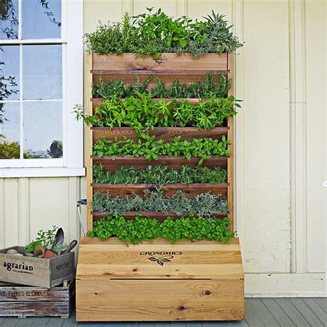 gronomics self watering vertical planter gardening