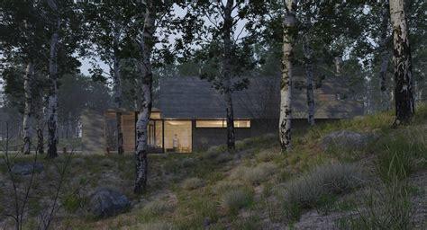 forest render 26 raw render ronen bekerman 3d architectural