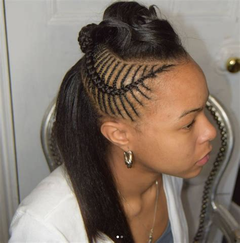 Braids Hairstyles For Black With Weave by 30 Beautiful Fishbone Braid Hairstyles For Black