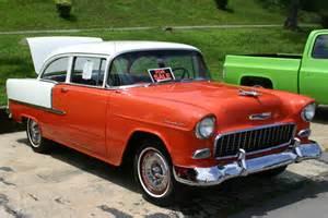 55 chevy 2 door post sedan