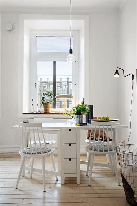 25 Ways To Use IKEA Norden Gateleg Table In Décor   DigsDigs