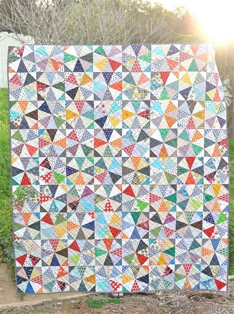 Kaleidoscope Patchwork Quilt Pattern - 175 best quilts kaleidoscope images on
