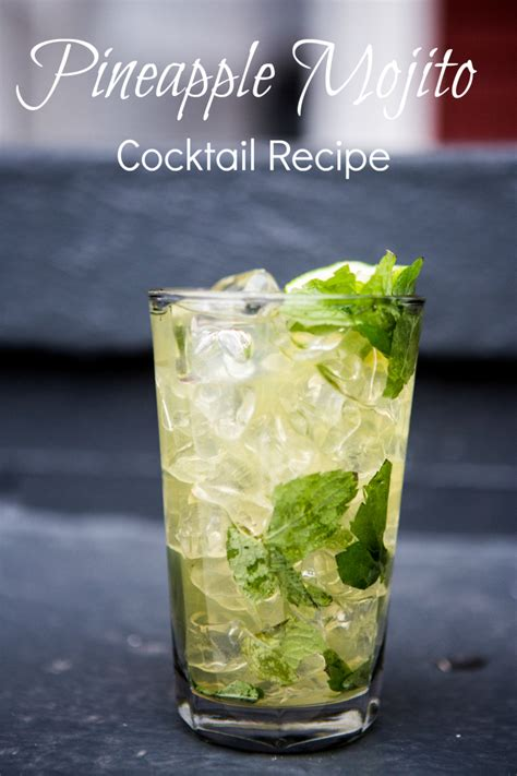 pineapple mojito recipe pineapple mojito recipe for a refreshing cocktail how