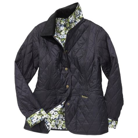 Quilted Clothing by Barbour Printed Summer Liddesdale Quilted Jacket