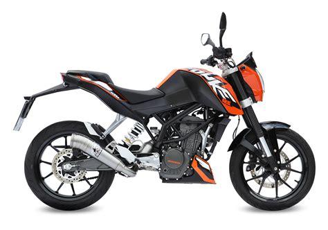 Motorrad 125 Tuning by New Mivv Exhausts For Ktm Duke 125 And 200 Visordown