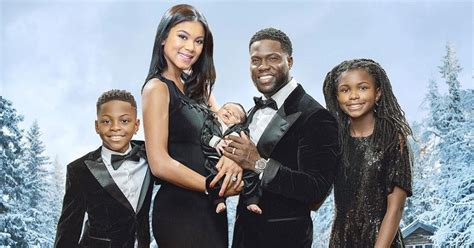 kevin hart family kevin hart s movie poster themed family christmas card
