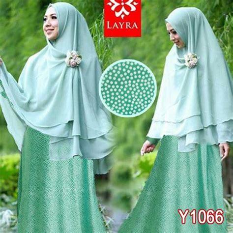 Jilbab Syari Bahan Sifon baju gamis bergo sifon layra y1066 syari modern