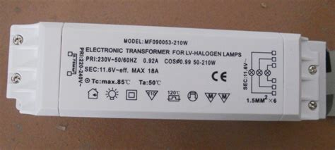 Transformer For Lv Halogen Ls by 210w Electronic Transformer For Lv Halogen Ls Ac220v