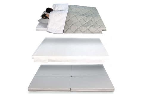 futon matelas pliable pouf lit pliant multifonction 3 e 1