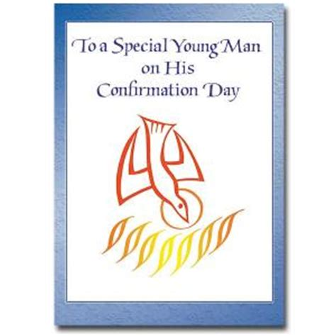 Confirmation Congratulations Letter confirmation boy card cb1428